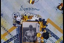 Mes pages (My Layouts) / Mes creations scrapbooking