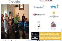 Escuela de Verano / Actividades de la Escuela de Verano organizadas por la Facultad de Turismo de Oviedo, Formagrupo, Otea y el Diario El Comercio