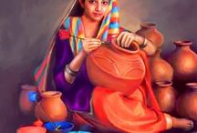 Sikh maharajas & Cultural  Oil Paintings