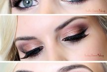 Cool toned makeup