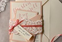 Wedding dress n invites