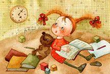 Illustrations -  Vika Kirdiy
