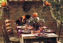dekoracje stołu ogród