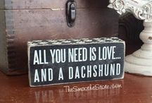 Dachshund - Love Dogs / Based on my Love for my Daxie Levi & my utter love for the breed ❤️