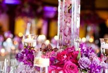 WEDDING TABLESCAPE/FLOWER IDEAS / by Cyndie Dickerson-Simon