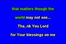 thank you Lord for your blessings on me