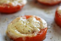 Sliced Tomato And Parmesan