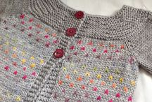 crochet  and knitted clothes