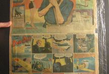 Misc. OLD Newspaper Strips 1st print great artists