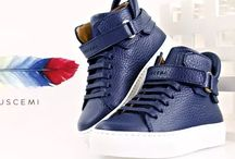 BUSCEMI AW16 / The luxury footwear designer has created a high end line of children's sneakers, which are hand crafted made from the finest Italian calf leather in the Civitanova Mache, in Italy