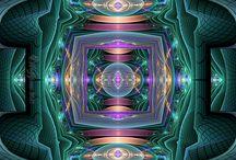 Optical illusion & Fractal Art