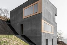 sloping land architecture