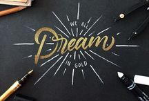 Hand lettering / by June Loo