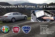 Autoservis Alfa Romeo Plzeň / Diagnostika italských automobilů Alfa Romeo Fiat Lancia  tel: 777 857 021. Autoservis Alfa Romeo - dílny Průcha                kompletní servis vozů Alfa Romeo, Fiat a Lancia.                Prodej nových i použitých náhradních dílů pro Alfa Romeo.                Výkup i prodej vozidel Alfa Romeo