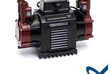 Grundfos Nile 1.2 Twin Impeller Positive Shower Pump