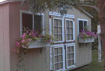 Old window DIY  / by Cindy Kline Martinez
