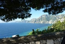 Amazing Amalfi / This stunning and unique area is a 'must' to visit.  With breathtaking scenery and beautiful towns such as Amalfi, Positano and Ravello dotted along the coastline with towns and villages alike seemingly 'clinging' to the cliff sides.