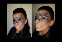 Valentine's Day Carnival Festival Masquerade Christmas makeup / carnival festival valentine's day christmas evening special occasion makeup