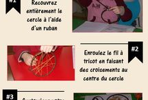 Activités manuelles pour enfants / Découvrez dans ce tableau de nombreuses activités manuelles que vous pourrez reproduire avec vos enfants !