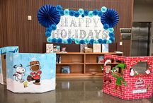 Milpitas 2017 Winter Holiday Display, with Santa