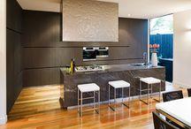 Albedor Dark and Moody Style Kitchen Design / Albedor's door designs suited to Dark & Moody are... Ultra Finish in matt, satin & organic finishes. Ultra Finish Nav Urban. Holly in matt, satin & organic finishes. For all Tips for achieving a Dark and Moody style in your home: Tips for achieving a Dark and Moody style in your home: http://www.albedor.com.au/index.php/design/styles/dark-moody-style-kitchen-design