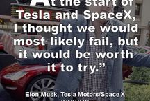 Tesla / Tesla Motors created by Elon Musk, featuring MyTesla pictures
