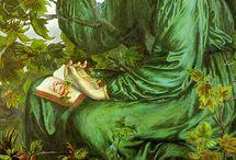 Dante Gabriel Rossetti and the pre-raphaelites / More  favorite paintings