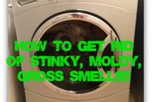 Smelly front load washer