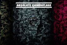 CASIO G-SHOCK! Absolue Camouflage Collection!!!!