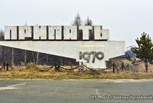 """"""" Ghost town"""" Pripyat"""