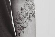 Scars coverup tattoo