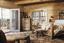 Caribou Creek Log Bedrooms / Different Bedrooms built by Caribou Creek Log & Timber