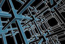 MC Escher Inspiration / Generative designs inspired by MC Escher's artwork.