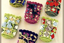 mini granny square haken