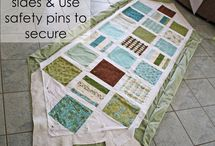 Quilt in sections