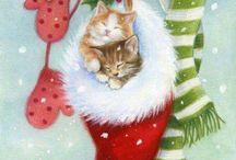 sne og jul