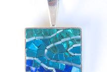 jewellery: mosaics / what to do with all the left over chips