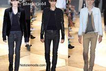 Diesel Black Gold uomo / Diesel Black Gold collezione e catalogo primavera estate e autunno inverno abiti abbigliamento accessori scarpe borse sfilata uomo.