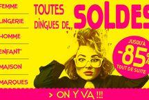 SOLDES - SOLD / Excedence.com / Les Soldes jusqu'à -85% chez Excedence ! http://www.excedence.com