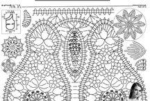 crochet irlandés modelos y graficos