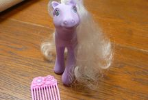My Little Pony / My Little Pony.  Ponies, playsets, clothes, gadgets, advertisements, books, jewelry, ...