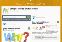 Turismo e viaggi / News, consigli e suggerimenti in ambito di hotel marketing e web marketing turistico. Puoi seguirci su: https://flipboard.com/@bookingexpert // http://www.youtube.com/channel/UC9Yd5mbWNGjDjsCKBbNwx7Q // http://www.scoop.it/t/consigli-e-news-per-strutture-ricettive // http://www.scoop.it/t/consigli-e-news-per-strutture-ricettive