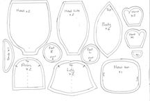 Doll patterns / Cloth doll patterns