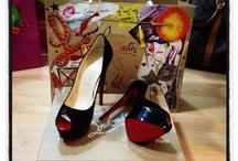 High heels...