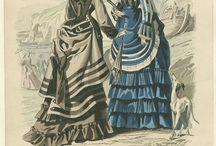 1870 seaside costume to make