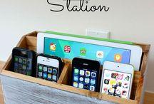 Organizing your family's electronics