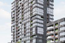 KAT PLANLARI | Yüksek Evler / Yüksek Evler, eşsiz manzarasıyla İncek Loft'ta.. 20 ve 30 katlı olmak üzere toplam 6 adet yüksek bloklardan oluşuyor.