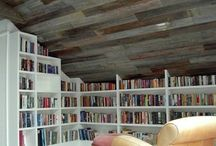 LIBRARIES, HOME OFFICES, ATTICS and HOUSE PLACES / Libraries, attics, Home offices, furnitures, vintage House places full of memories