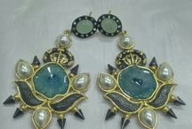 earrings by glitzandglam.co.in