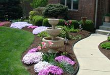 Landscaping my Dream Home / Landcape inspiration, landscaping DIY project ideas.